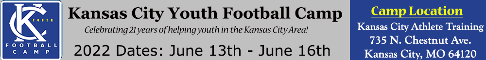 Kansas City Northland Youth Football Camp at Park Hill High School in Kansas City Missouri