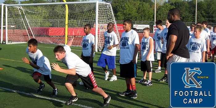 Kansas City Youth Football Camp held at Park Hill High School by Worlds of Fun